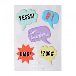 Stickers adesivi vignette