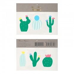 Tatuaggi temporanei, cactus