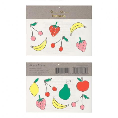 Tatuaggi temporanei, frutta