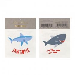 Tatuaggi temporanei, squali