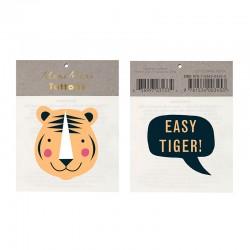 Tatuaggi temporanei, tigre