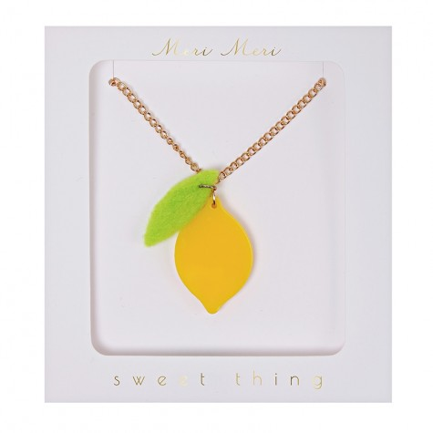 Collana con limone