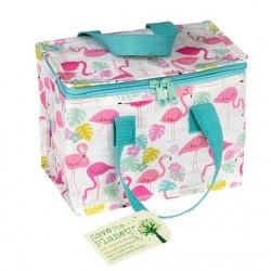 Flamingo lunch bag