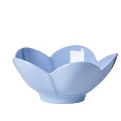 Tazza da colazione a forma di fiore azzurro
