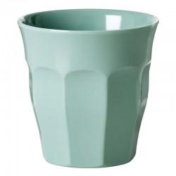 Bicchiere medio tinta unita - khaki