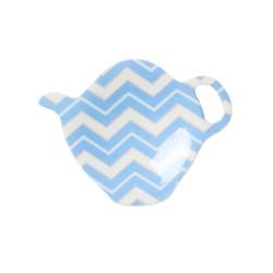 Poggia filtro del tè, fantasia zigzag