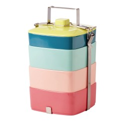 Lunch box multicolor XL