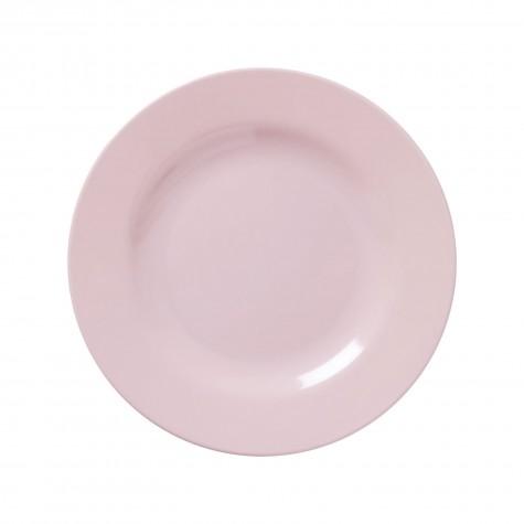 Piatto frutta in tinta unita rosa chiaro