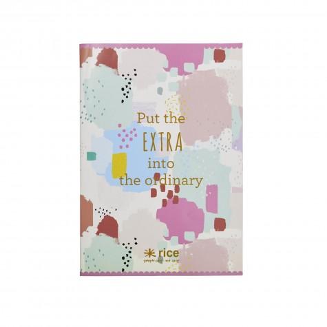 Quaderno A4 fantasia macchie