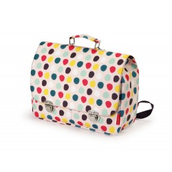 Large dots school bag