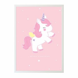 Poster baby unicorno