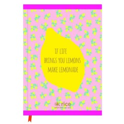 Notebook A4 fantasia limoni