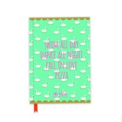 Notebook A5 fantasia cigni