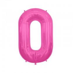Palloncino 0 rosa