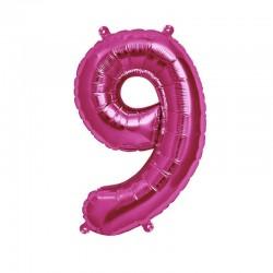 Palloncino rosa 9