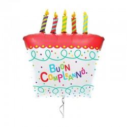 Palloncino torta di compleanno