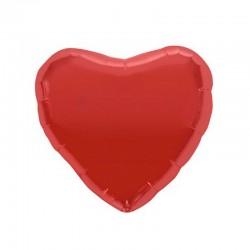 Palloncino rosso a forma di cuore