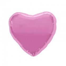 Palloncino rosa a forma di cuore