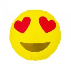 Palloncino Emoticon innamorati