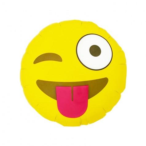 Palloncino Emoticon occhiolino