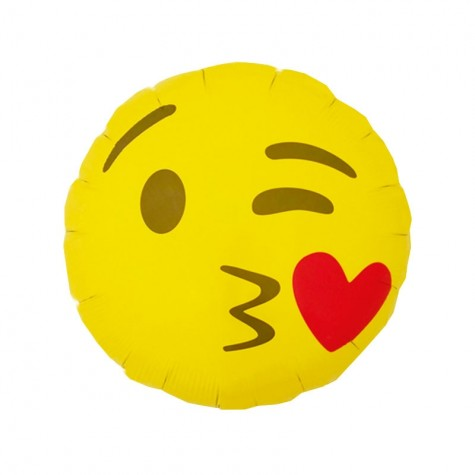 Palloncino Emoticon Kiss